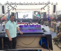 Taher Sound opts for dLive