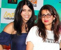 Ekta Kapoor and Alankrita Shrivastava reunite after Lipstick Under My Burkha!