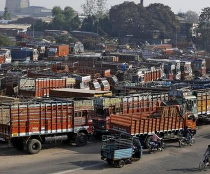 GST has not reduced travel time, rue truckers