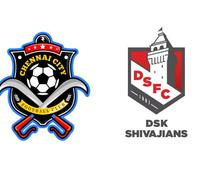 Preview: I-League - Chennai City FC look to get back on track against DSK Shivajians