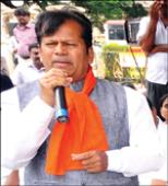 District BJP President takes a jibe at new Dist. Minister