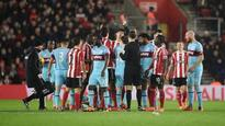 21:21Victor Wanyama faces questions from Ronald Koeman after third red card