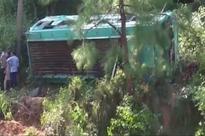 22 killed, 51 injured as bus falls into ravine in Pakistan