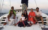 Photo of the day: Abhishek celebrates his birthday with Aishwarya, Aaradhya and Bachchan parivar in Maldives