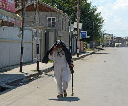 'In Kashmir, we're in a tunnel with no light at the end'
