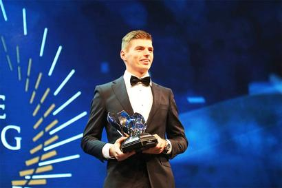 Verstappen a double winner again at FIA awards