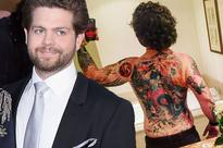 Jack Osbourne unveils Samurai inspired back tattoo and it makes Ozzy look tame
