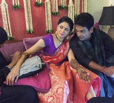 PIX: FIR actress Kavita Kaushik's mehendi ceremony