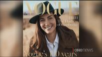 Duchess of Cambridge follows the late Princess Diana to appear on Vogue cover