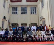 Mehbooba Mufti sworn in as J&K's first woman CM