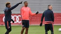 Mueller on Bayern bench for Atletico clash