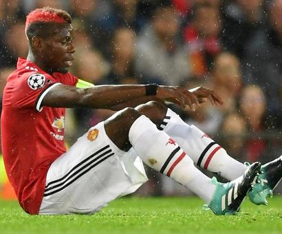 Man United boss Mourinho won't cry over injured Pogba