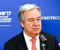 UN Secretary-General Antonio Guterres urges India, Pakistan to find peaceful solution to Kashmir issue