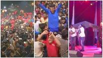 Nation rings in new year with celebrations galore