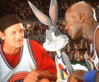 Michael Jordan ran pickup games on the set of 'Space Jam'