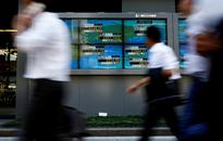 Asia shares settle after rally, dollar squares losses on Trump comments