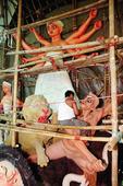 Tallest Durga in Bistupur