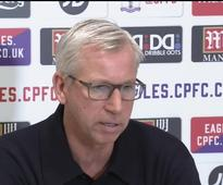 Pardew: Palace far from safe