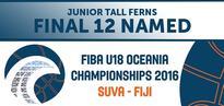 Junior Tall Ferns Final 12 Named for FIBA Oceania Championships