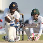 Bangladesh take charge after Karunaratne's ton rescues Sri Lanka