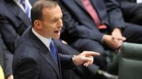 Tony Abbott jumps on Labor's budget catch 22.2