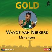Bolt hails Wayde van Niekerk's gold medal performance