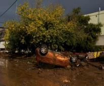 Greece flash floods death toll climbs to 22