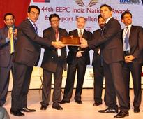 Duroshox receives award for Special Contribution from EEPC