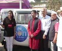 An open fridge for the needy in Mumbai