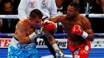 Boxing: Golovkin stops brave Brook in fifth round