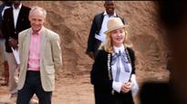 Madonna Inspects Malawi Hospital