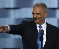 California lawmakers hire Holder for fights with Trump, New York Times reports
