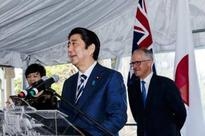 Japan's Abe pushes tenuous TPP trade deal in Australia
