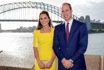 Prince William and Kate Middleton as Tourists