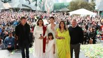 WATCH: Aishwarya Rai Bachchan hoists the Indian National Flag at IFFM 2017 with daughter Aaradhya