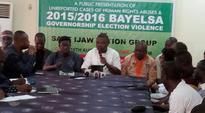 Unreported Human Rights Abuses & Bayelsa State Governorship Elections Violence December 2015 & January 2016