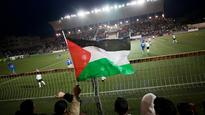 Palestinians angry with the Asian Football Confederation
