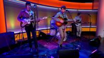 Californian band the Allah-Las on Marr