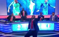 WATCH: Benni McCarthy goes crazy after Eder's goal in the Euro 2016 Final against France.