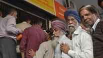 Senior citizens left to fend for themselves at Ghaziabad banks