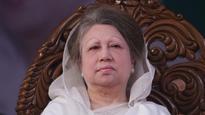 Khaleda calls Hasina PM in name only