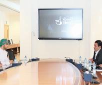 Iranian trade team visiting Oman