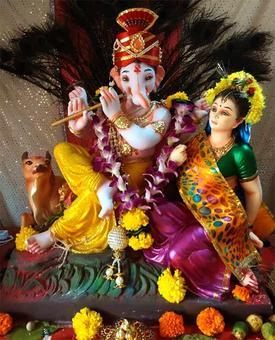 Ganpati@Home: From Mohali to Marathwada