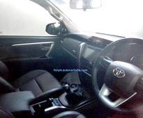 India-spec, 2016 Toyota Fortuner spied in Gujarat; launch in November