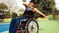 Standing on own feat, para-athletes refuse to give up