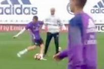 Toni Kroos scores top bins stunner in Real Madrid training after glorious Zinedine Zidane one-two
