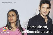 Mahesh absent, but Namrata present