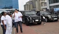 New range Mercedes-Benz SUVs outdoored