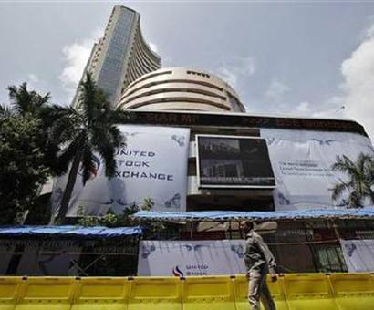Sensex ends flat at 24,492