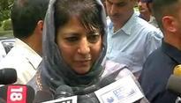 Mehbooba urges Modi Govt. to follow Atal Bihari Vajpayee's footsteps